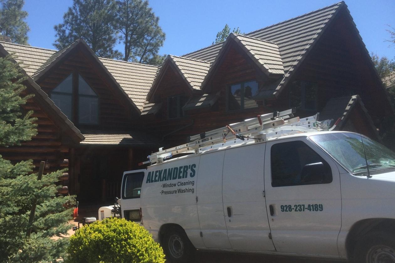 Alexanders Window Cleaning 928-237-4189